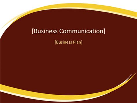 Stanford business plan template